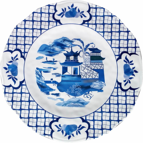 Enchanted Home Chinoiserie Melamine