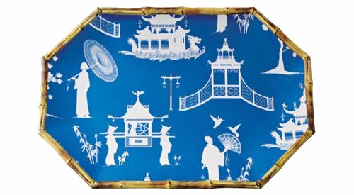 Kim Seybert Chinoiserie Platter