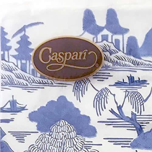 Caspari Blue Willow Paper Cocktail Napkins