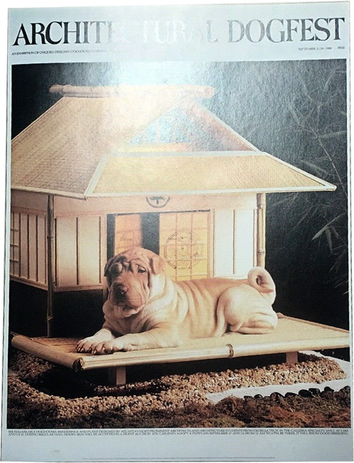 Make your pup a Japanese Pagoda from the instructions in Barkitecture by Fred Albert
