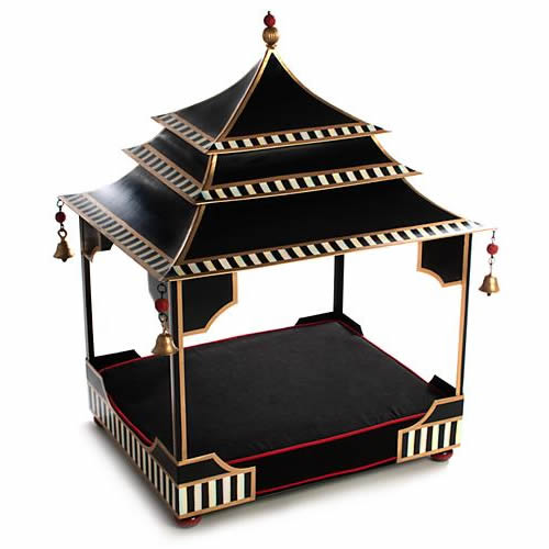 MacKenzie-Childs Courtly Pagoda Pet Bed