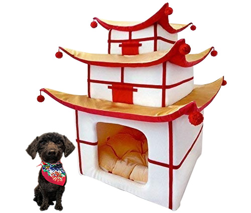 Made for Pets Pet Pagoda Bed for Cats or Small Dogs