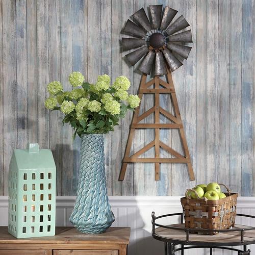 Sagebrook Home Windmill Wall Decor