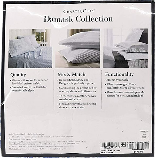 Charter Club Damask Collection