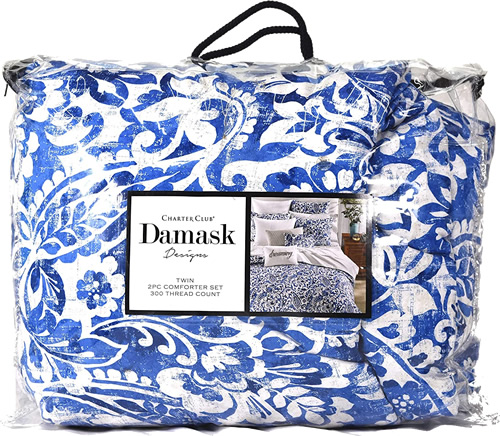 Charter Club Damask Designs Comforter Set
