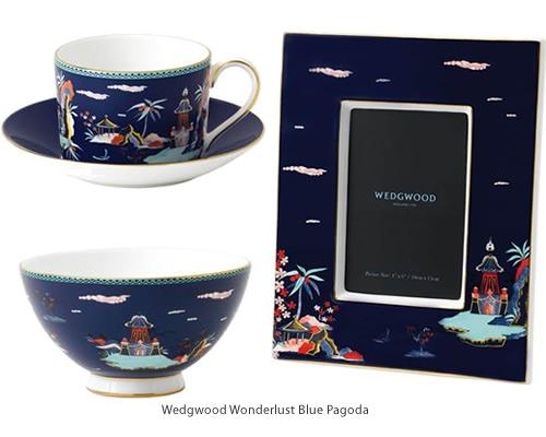 Wedgwood Wonderlust Blue Pagoda