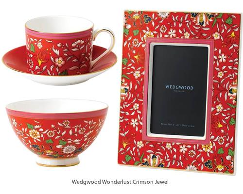Wedgwood Wonderlust Crimson Jewel