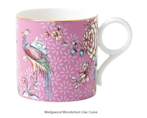 Wedgwood Wonderlust Lilac Crane Mug