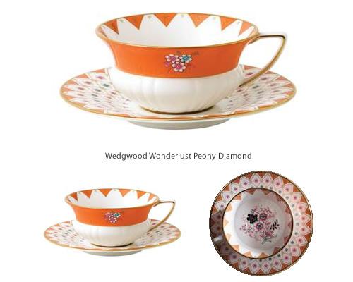 Wedgwood Wonderlust Peony Diamond