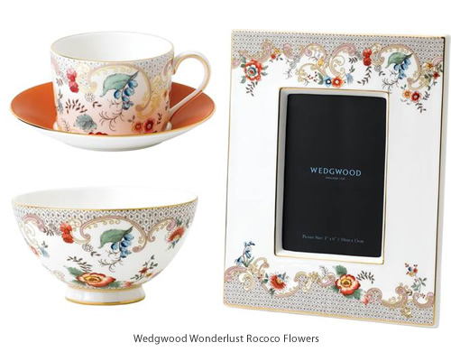 Wedgwood Wonderlust Rococo Flowers