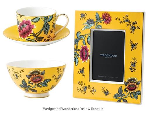 Wedgwood Wonderlust Yellow Tonquin