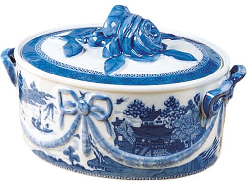 Mottahedeh Blue Canton Oven-safe Casserole