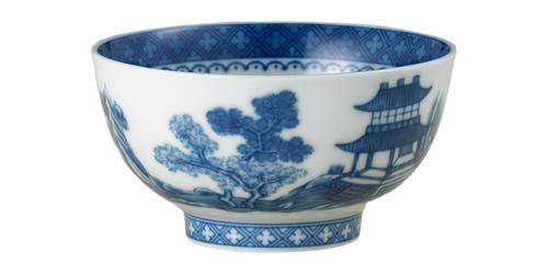 Mottahedeh Blue Canton Dessert Bowl