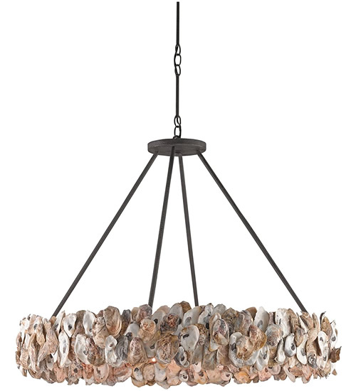 Currey and Company 9672 Oyster Circle Chandelier