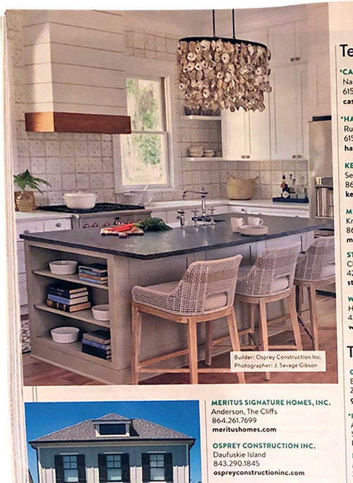 Southern Living Find a Builder Osprey Construction Inc Southern Living, March 2021