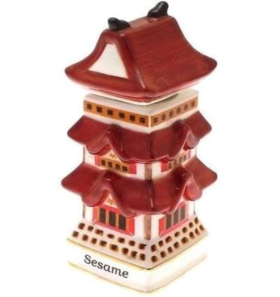 Sesame Japanese Pagoda
