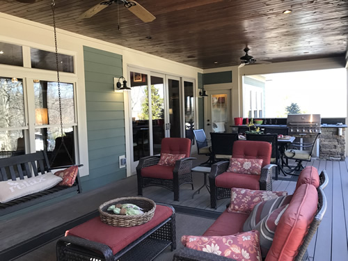 Schumacher Model Home Porch