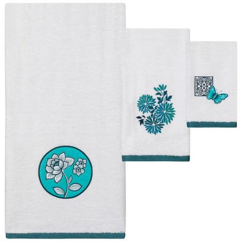 Creative Bath Ming Floral Bath Towels