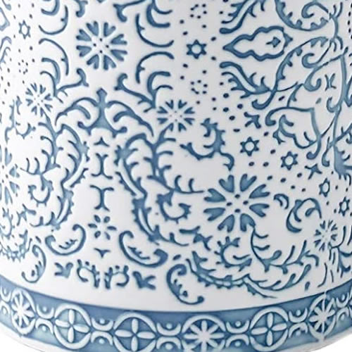 Debossed Ceramic Stoneware