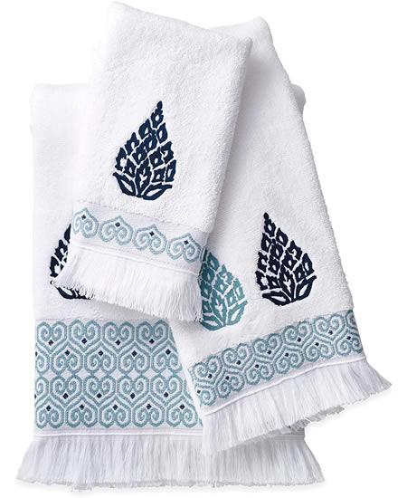 Peri Home Capri Medallion Towels