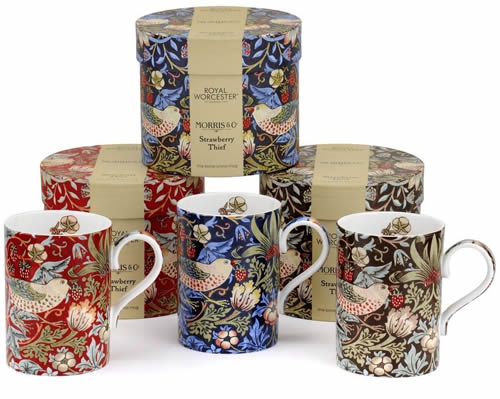 Royal Worcester Strawberry Thief Mug Gift Sets