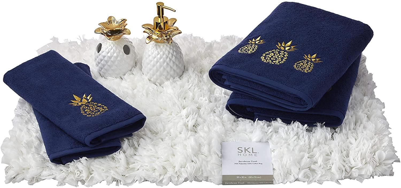 SKL HOME Gilded Pineapple Full Bath Splash Box Set