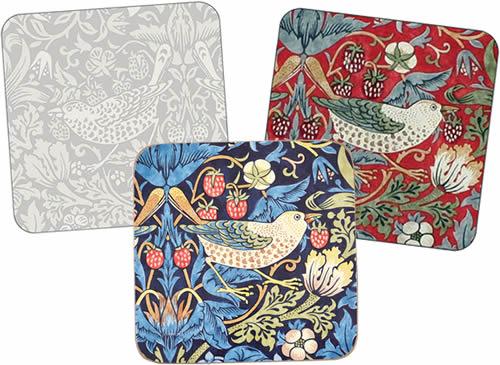 Pimpernel Morris & Co Strawberry Thief Coasters
