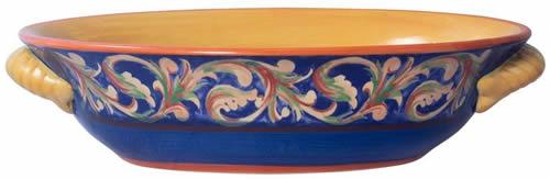 Pfaltzgraff Villa Della Luna Stoneware Oval Serve Bowl