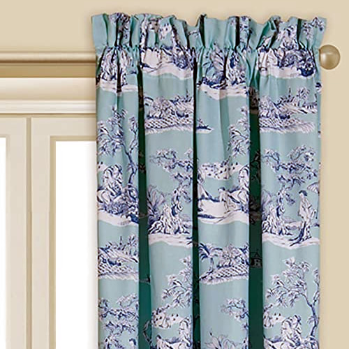 Colonial Williamsburg Foundation Hampstead Chinoiserie Toile print curtains