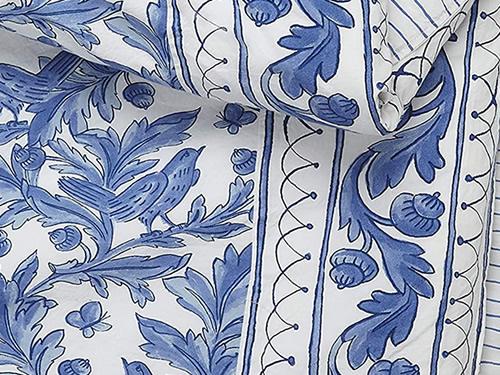 Molly Hatch Blue Bird Bedding