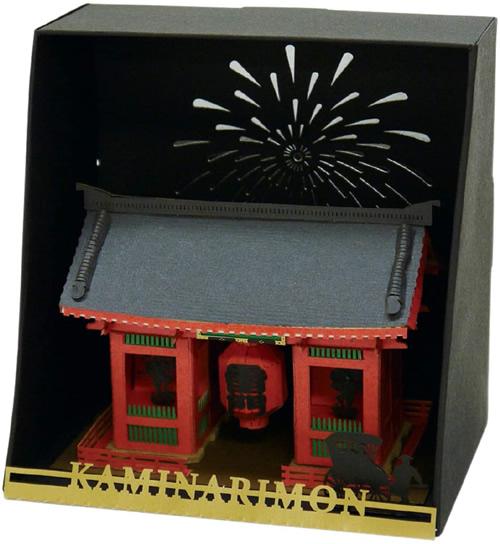 Paper Nano Kaminarimon Gate Model